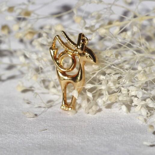 pendentif or signe astrologique belier